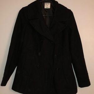 Small black pea coat